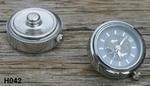 Horlogeklik zwart/grijs (H042)